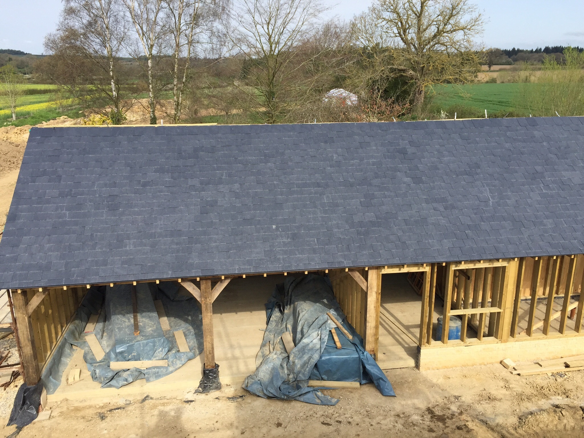 Slating Ps Mitchell Roofing Gloucestershire
